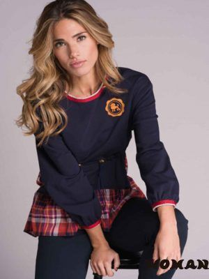 Sudadera HIGHLY PREPPY Mix Cuadros