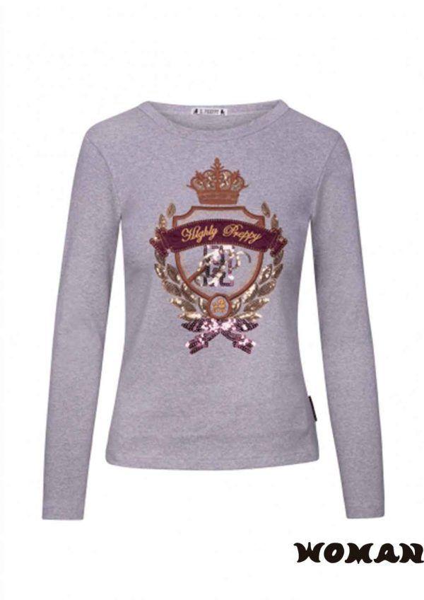 Camiseta HIGHLY PREPPY Escudo Princess