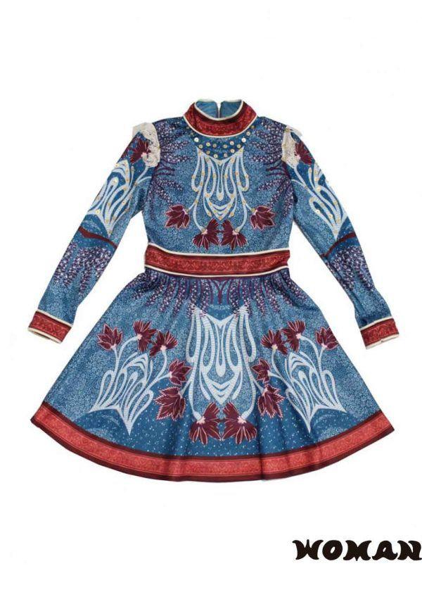 Vestido HIGHLY PREPPY Print