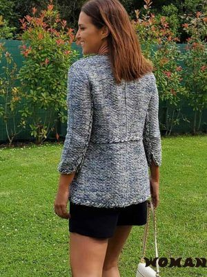 CHAQUETA AZUL TIPO CHANEL ANABEL THE EXTREME COLLECTION
