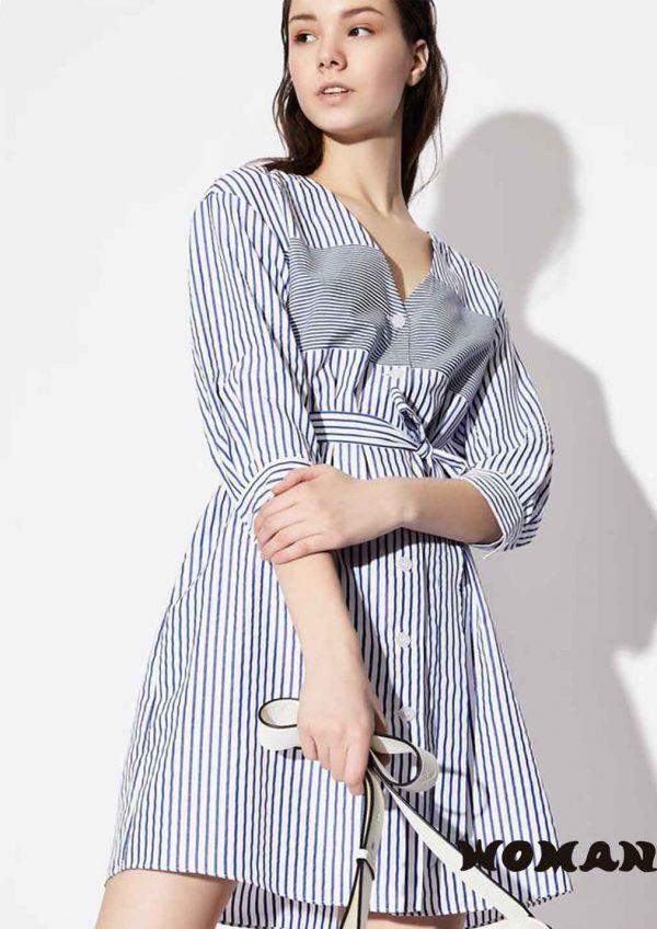 Vestido Camisero Armani Exchange