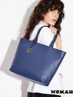 Bolso Armani Exchange Azul