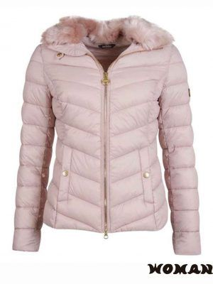 Chaqueta BARBOUR Sport Quilted Rosa