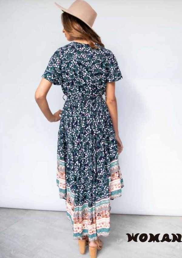 Vestido Jaase Kalani Print Taurus Maxi