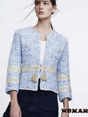 CHAQUETA THE EXTREME COLLECTION TWEED OLIVIA
