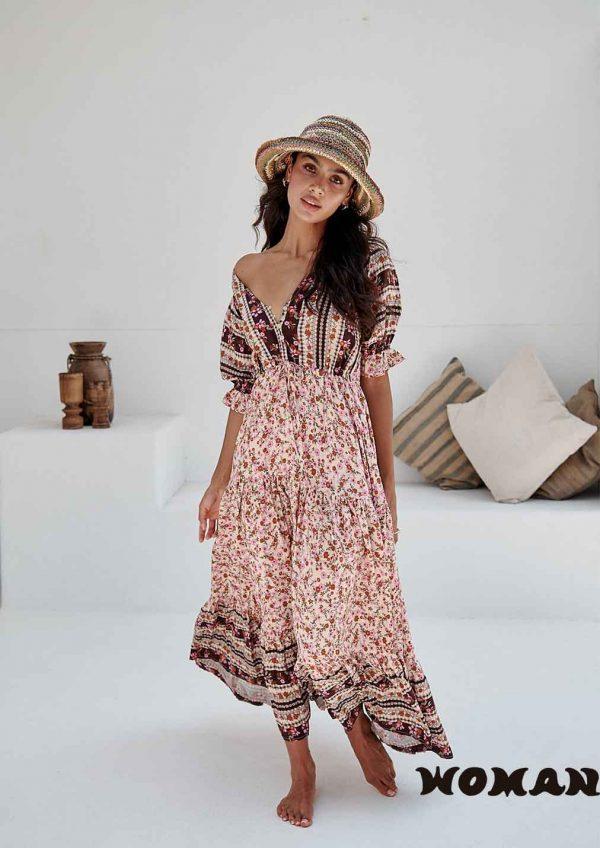 Vestido Jaase Madelene Print Lorena