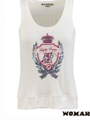 9778 Camiseta basica escudo Highly Preppy