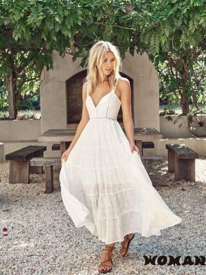 Vestido Jaase Bea Maxi Dress - Jasmine White Anglaise