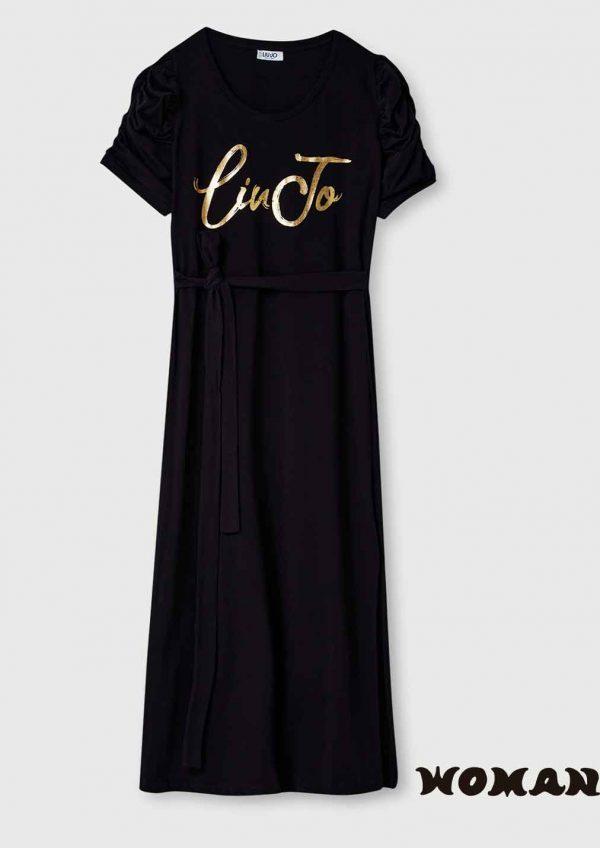 Vestido Liujo largo algodón