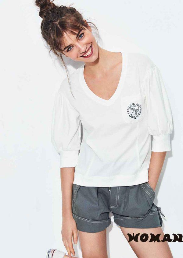 9776 Camiseta Pico Highly Preppy