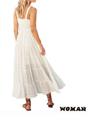 Vestido Jaase Bea Maxi Dress - Jasmine White