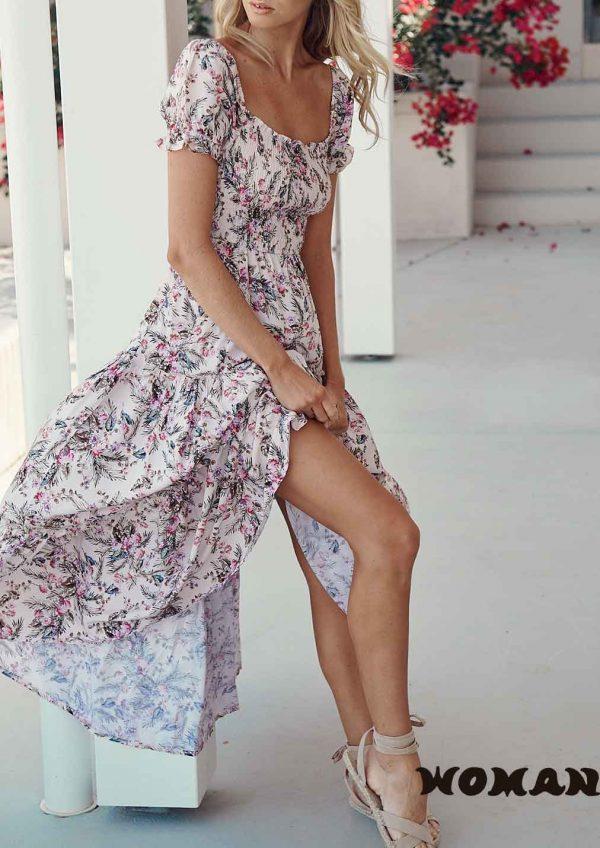 Vestido Jaase Anastasia Print Sundance