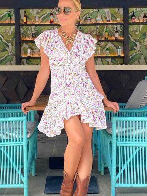 Vestido FETICHE SUANCES Blossom Pink