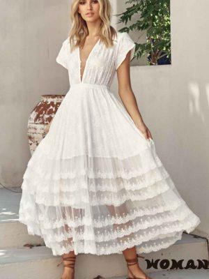 Vestido Jaase Snow White Pandora Maxi