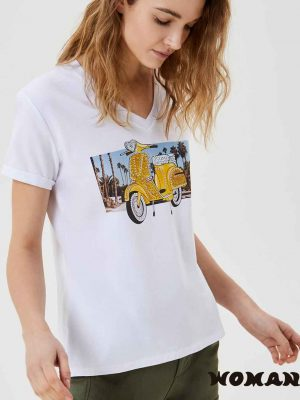 Camiseta Liujo Vespa