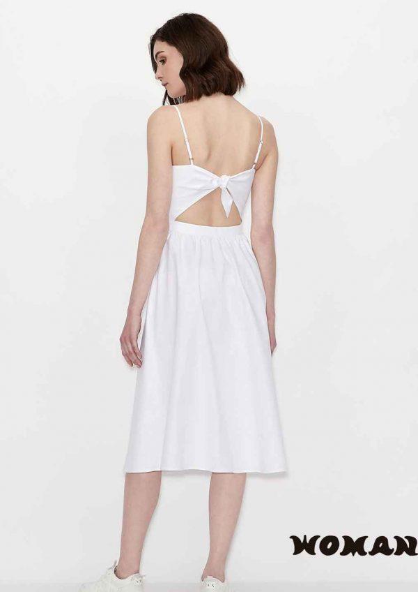 Vestido Armani Exchange blanco