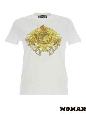 Camiseta Versace motivo de cristales