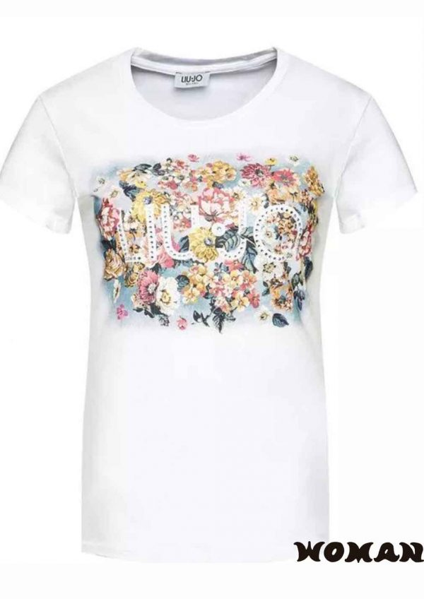 Camiseta Liujo Flores