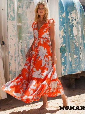 Vestido Jaase Saint Tropez Print Carmen