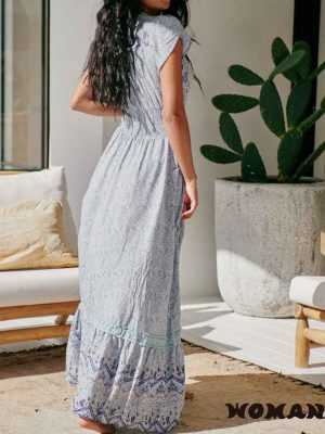 Vestido Jaase Riverside Print Romi