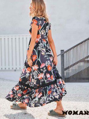 Vestido Jaase Merida Print Carmen