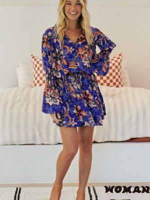 Vestido Jaase Catalina Print Mini