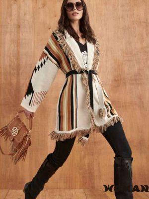 Cardigan FETICHE SUANCES Navajo Beige