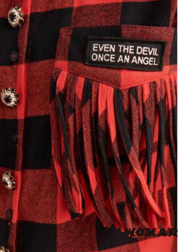 Vestido FETICHE SUANCES Love Tartan Dress