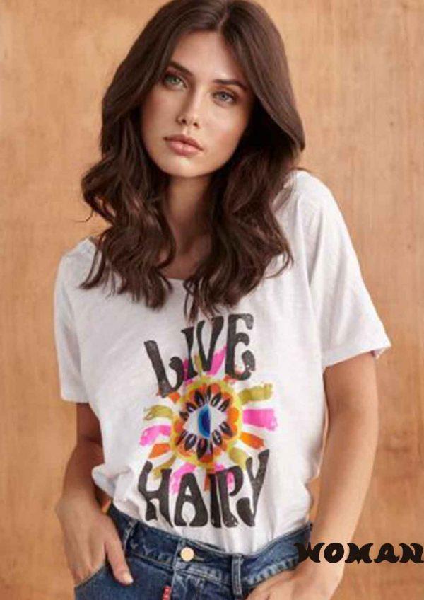 Camiseta FETICHE SUANCES Live Happy