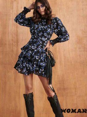 Vestido FETICHE SUANCES Adele Black