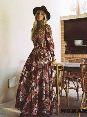 Vestido Jaase Madea Print Rae